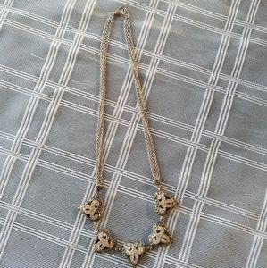 Vintage Sterling 925 Hearts Necklace